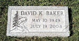 My uncle, David Baker, 1949-2004